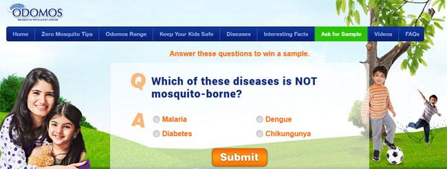 Odomos mosquito repellent