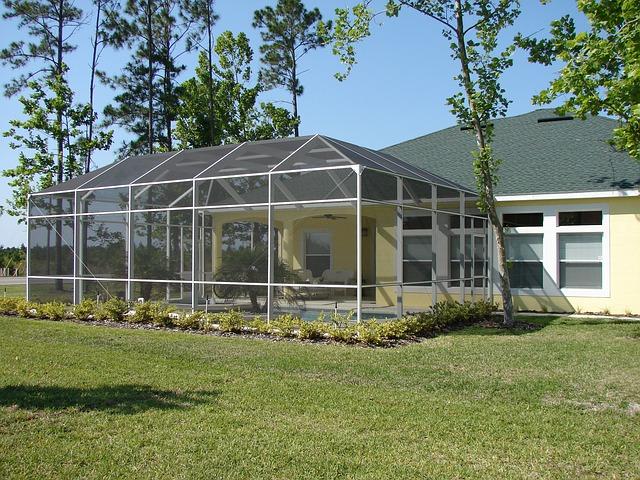 Módulos de jardín - Ampliación acristalada de vivienda