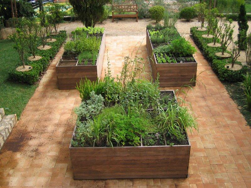 pequena horta no jardim : pequena horta no jardim:Hortas possíveis