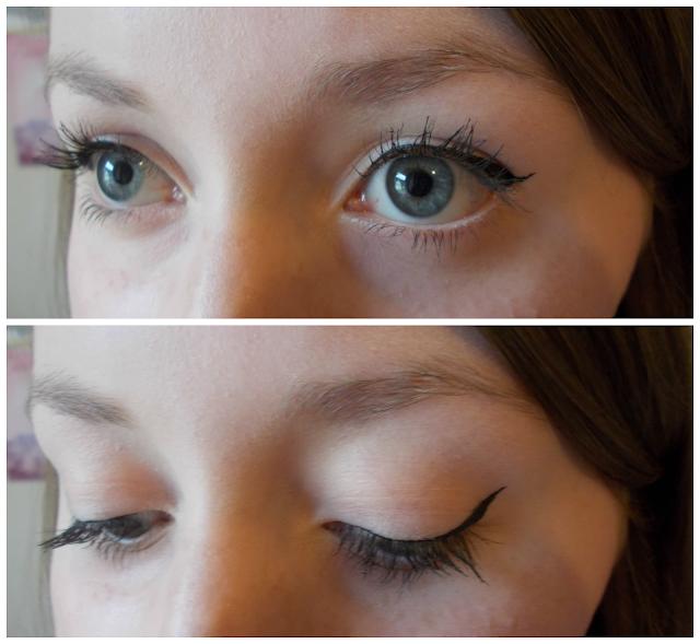 Makeup Revolution Amazing Liquid Eyeliner review swatches