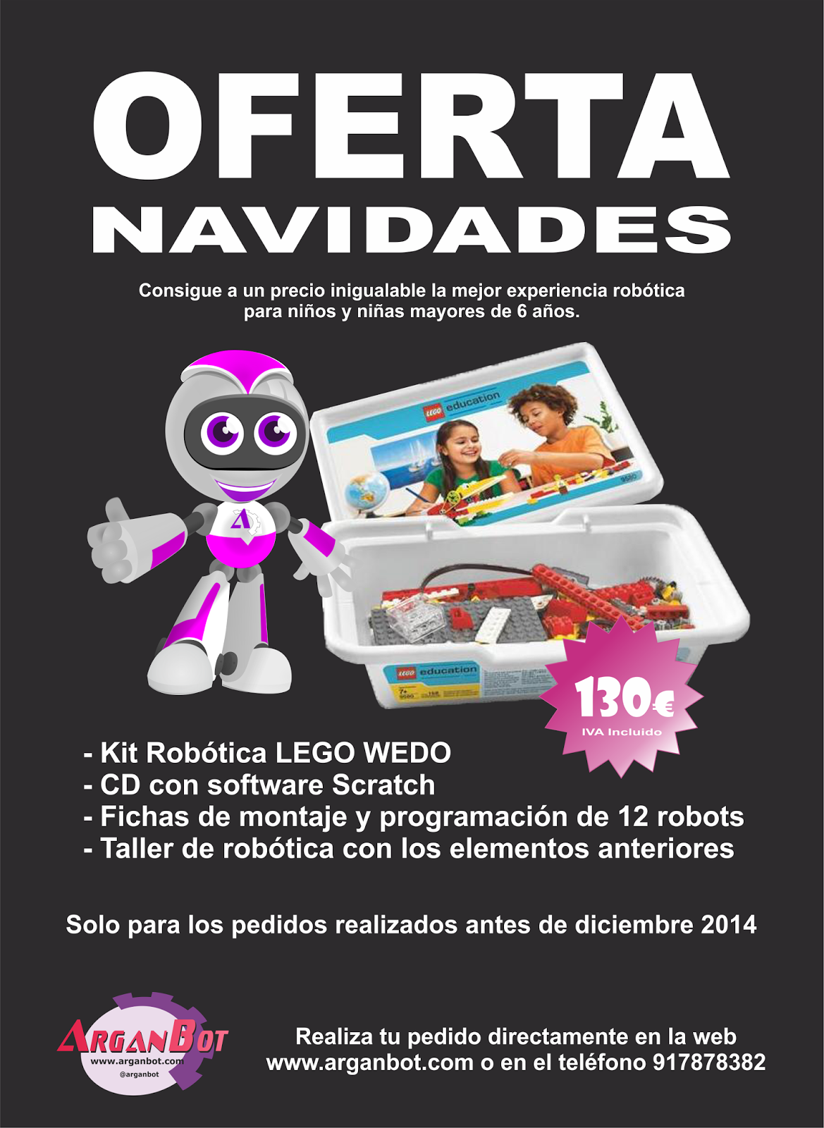 Pack Lego Wedo Oferta Navidad 2014