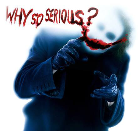 Why So Serious Symbols Emoticons