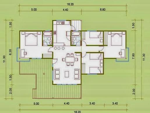 Planos de casas peque as - Planos de casas pequenas ...