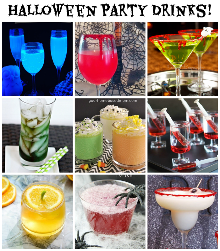 Halloween Party Drinks: 10 Spooky Ideas! (alcoholic and non-alcoholic)