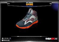 NBA 2K14 Under Armour Spine