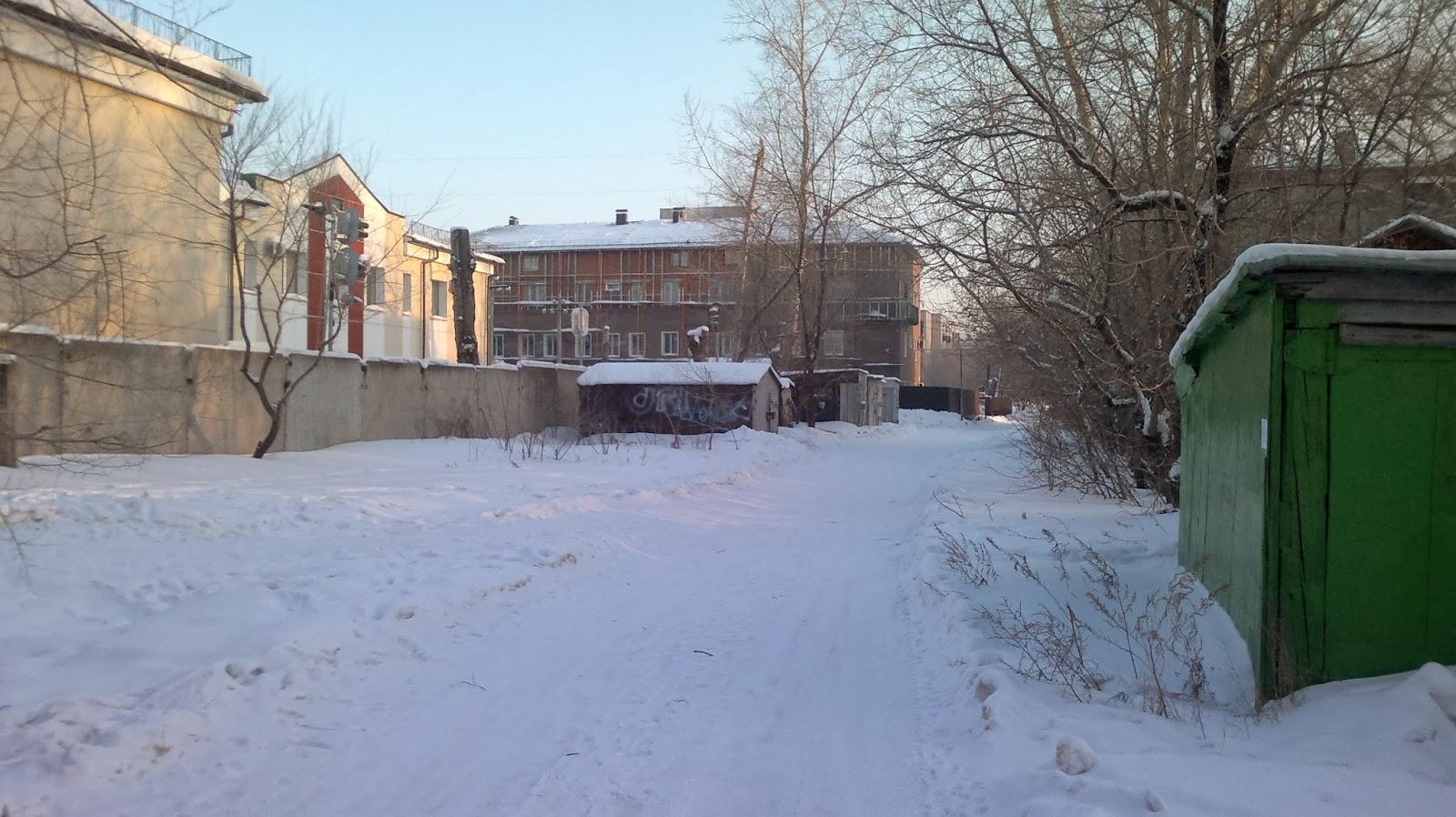 Морозы в конце января стали чуть тише