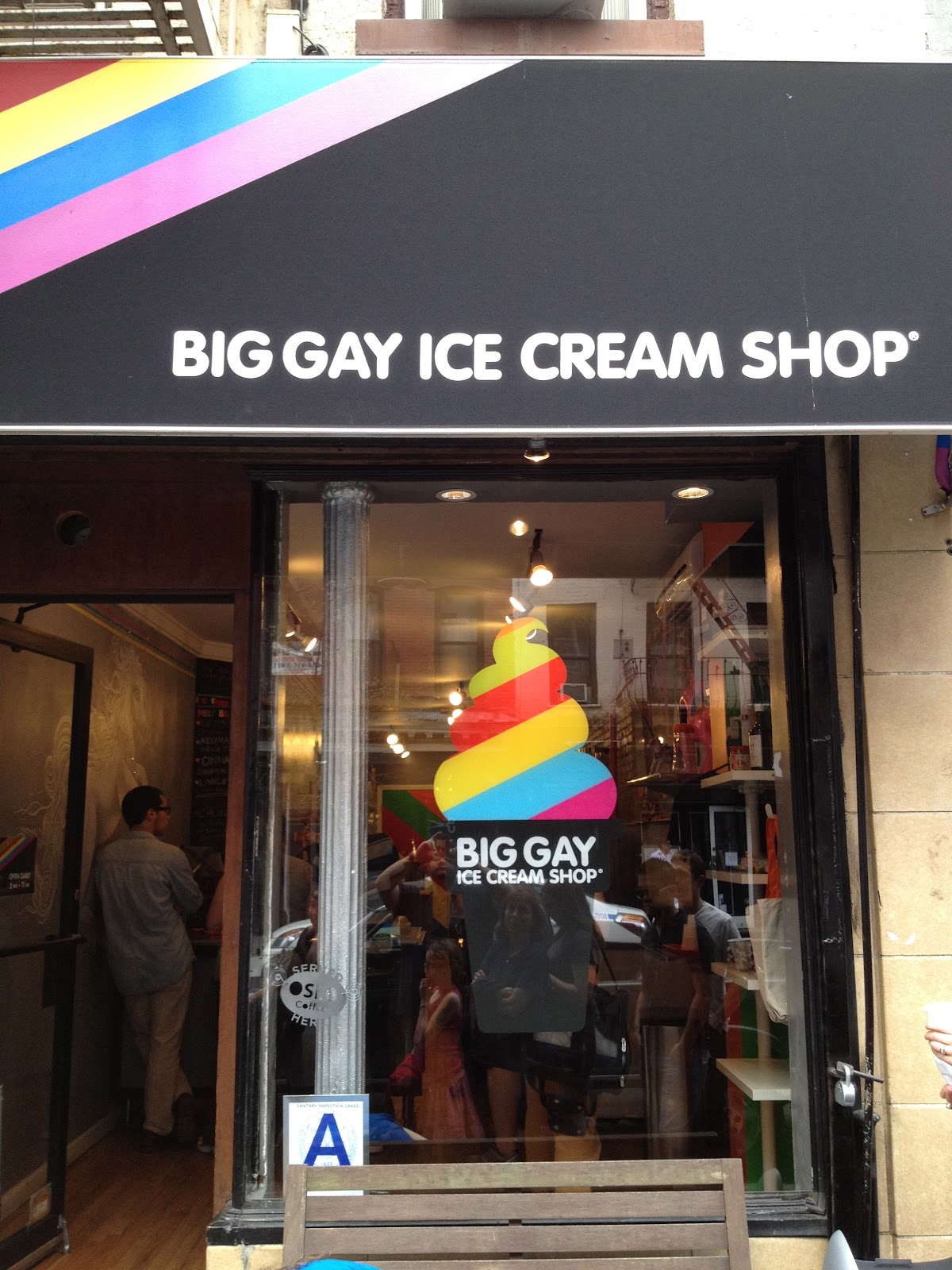 The big gay ice cream shop