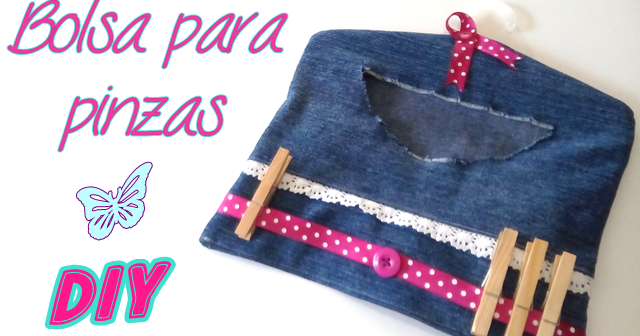 Yuyi 39 s creations diy c mo hacer una bolsa para pinzas for Porta ganchos de ropa