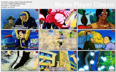 Download Film / Anime Dragon Ball Z Majin Buu Saga Episode 285 Bahasa