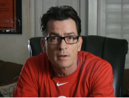charlie sheen house. Troubled actor Charlie Sheen