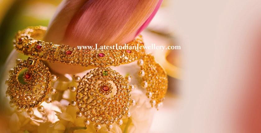 Rose Cut Diamonds Bridal Jewellery