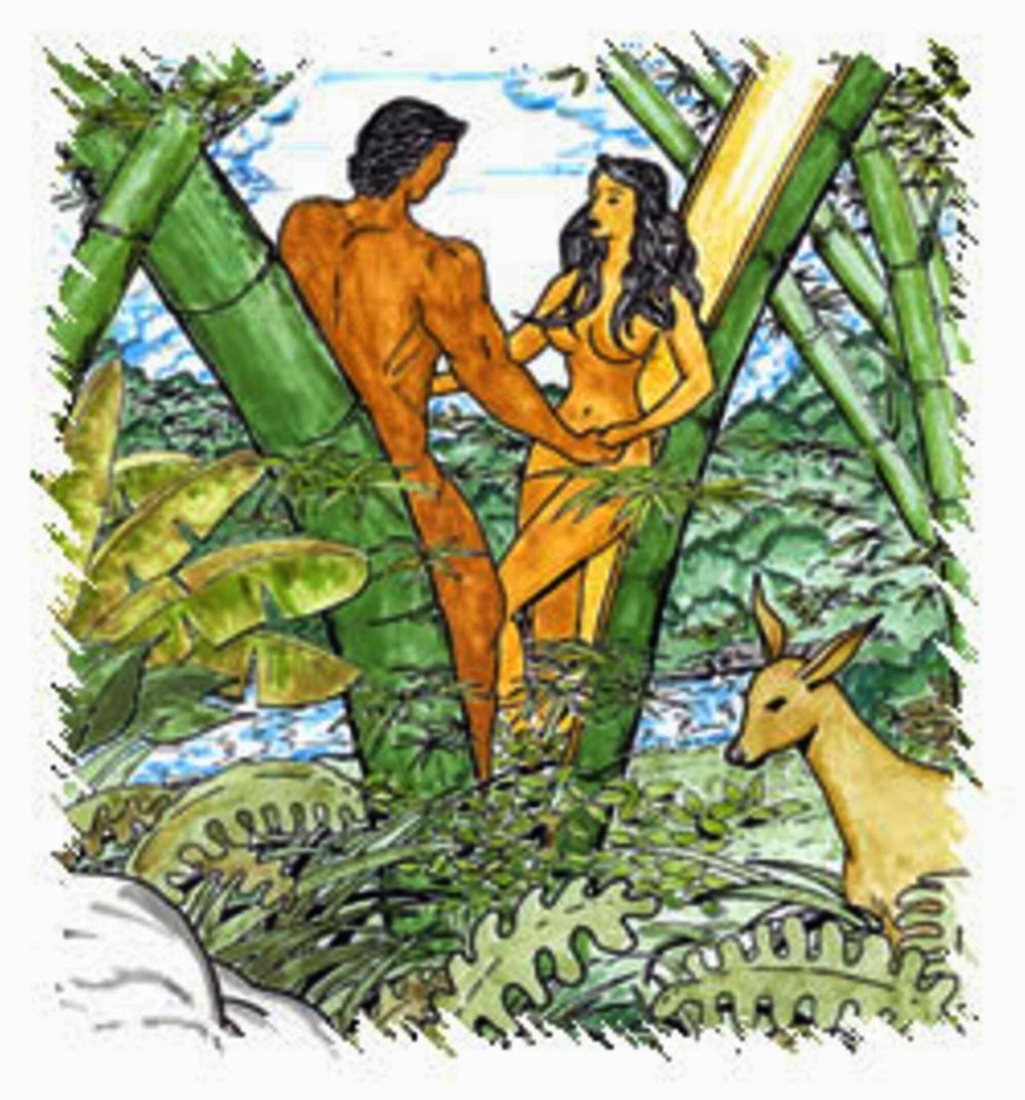 Malakas at Maganda - Philippine mythology