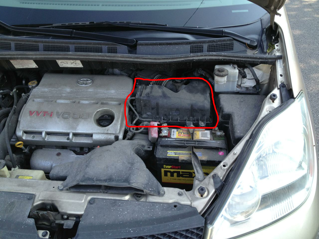 toyota corolla 2003 air cleaner box  toyota  free engine