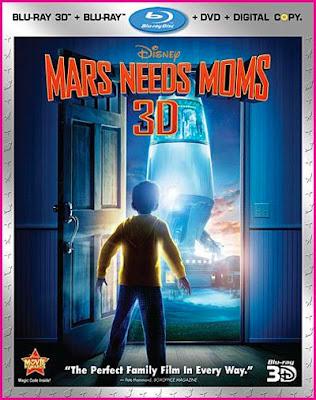 Download Mars Needs Moms 3D (2011) BluRay 720p Half SBS 500MB Ganool