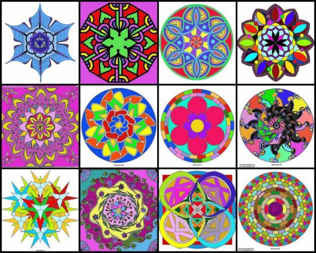 Peke ucos mandalas para ni os - Mandalas en colores ...