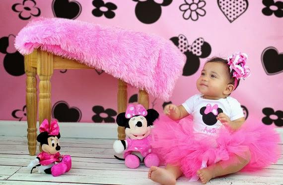 Lily Baby Shop Fantasia da Minnie Rosa com saia Tutu ~ Quarto Rosa Da Minie