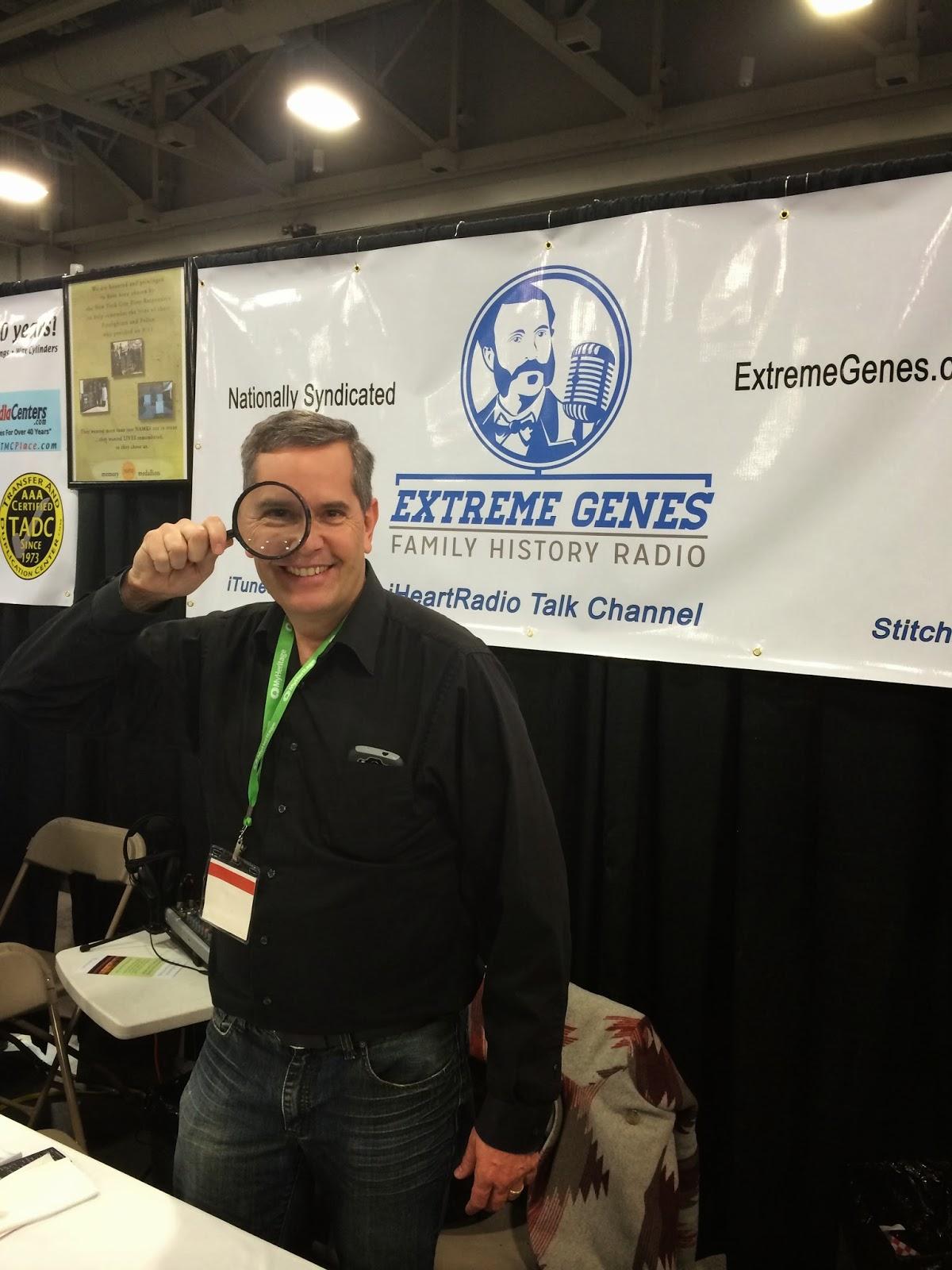 "Extreme Genes Podcast/Radio Show - Saturday ""New Genealogy Product"" Pick"