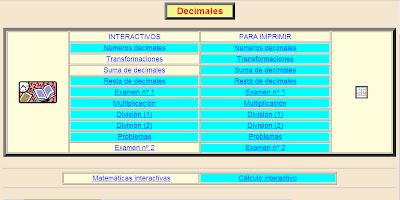 Decimales, decimales, Matemáticas, numeración