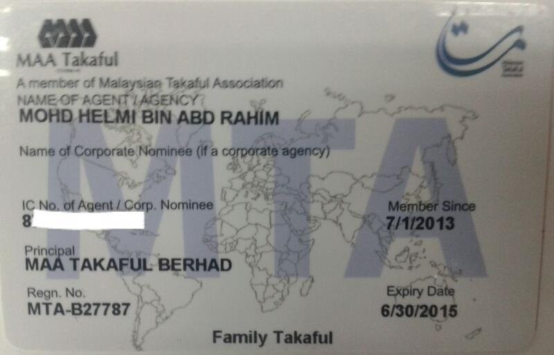 Kad Ahli Persatuan Takaful Malaysia (MTA)