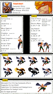 Hawkman Mugen Char
