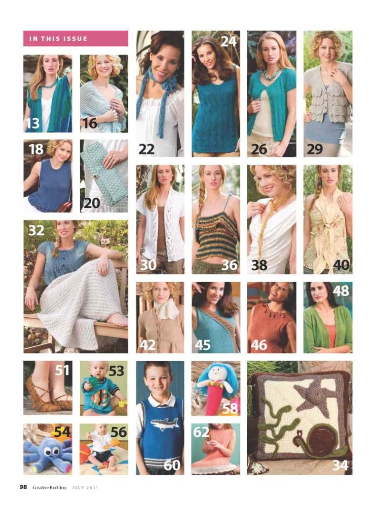 Creative Knitting Magazine- Summer 2013