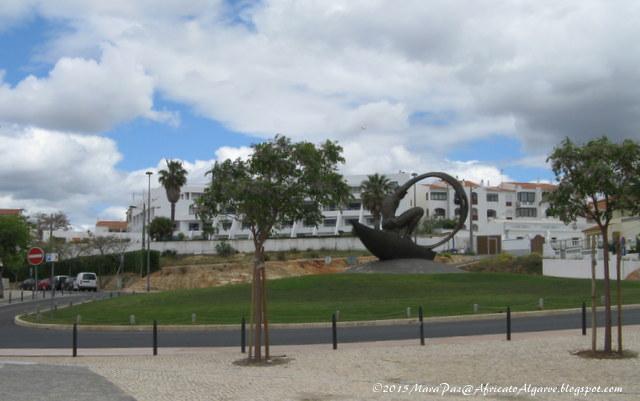 roundabout, Albufeira, Algarve