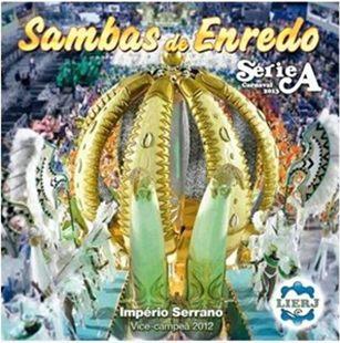Foto da capa do CD dos Sambas de Enredo 2013 do Grupo de Acesso do Rio de Janeiro.