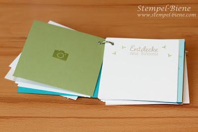 Swap Prämienreise, Swap Madeira, Reisetagebuch basteln, Buch basteln, Reisetagebuch, Scrapbookminialbum basteln, Stempel-Biene, Stampin Up bestellen, Stampin Up Workshops