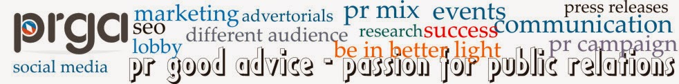 PR Good Advice: Passion for Public Relations