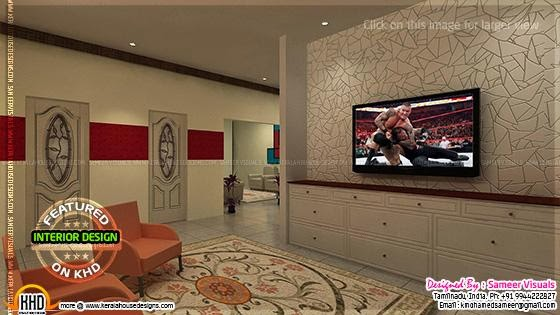 TV room interior