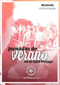 Jornadas de Formación de Verano de la UJCE de Málaga