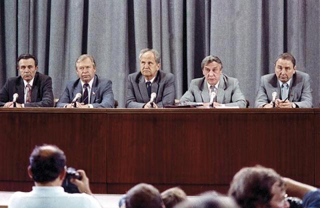 фото Пресс-конференция ГКЧП