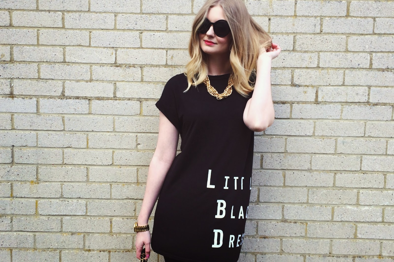 FashionFake, a UK fashion and lifestyle blog. A little black dress is a staple fashion piece in any wardrobe and this casual version of a classic LBD from Wearall is a current favourite.