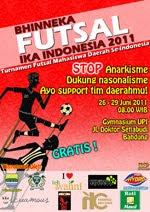 Poster Bhinneka Futsal Ika 2011