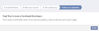 註冊Facebook開發者,步驟五