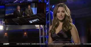 Kimberly Lansing anchoring the WPT