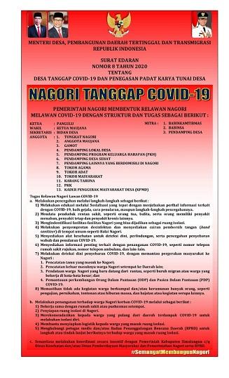 Nagori Tanggap Covid-19