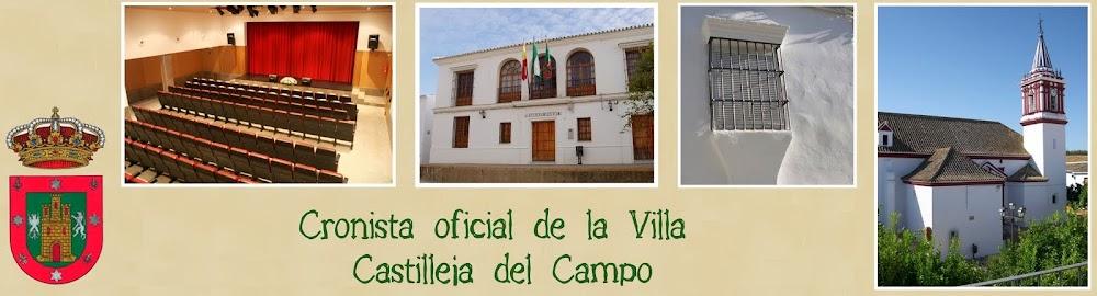 CRONISTA OFICIAL DE LA VILLA <br> CASTILLEJA DEL CAMPO
