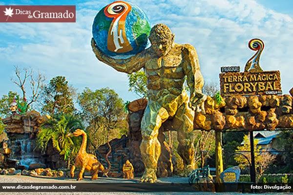 Parque Terra Mágica Florybal - Canela/RS