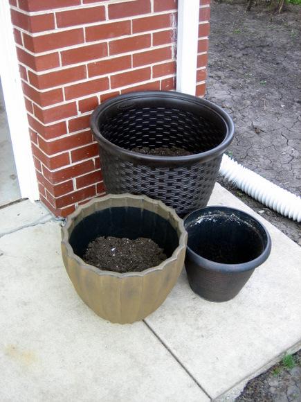 Menards flower pots