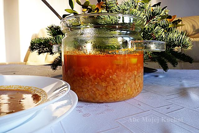 Zupa z czerwonej soczewicy Lestello