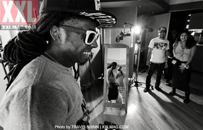 sesion fotografica de lil wayne para la revista xxl
