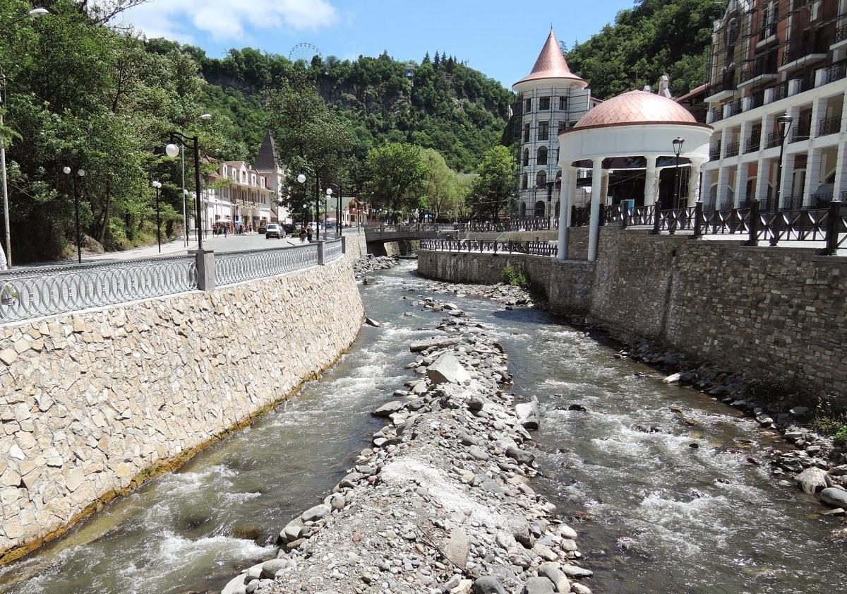 река Боржомка