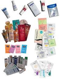 Regalos y muestras gratis de artículos de belleza y otros