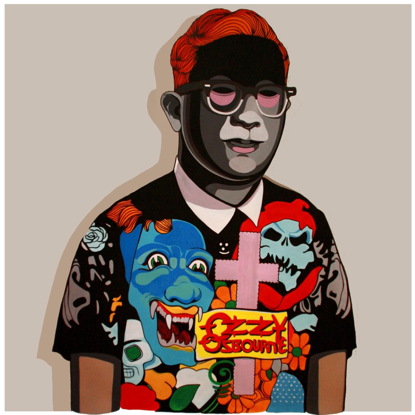 José Álvarez, José Álvarez Ilustración, Ozzy Osbourne,