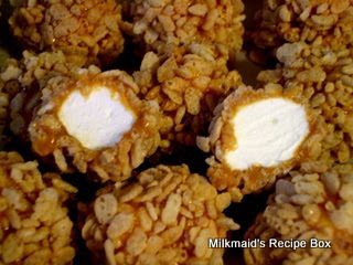 Marshmallow Caramel Balls