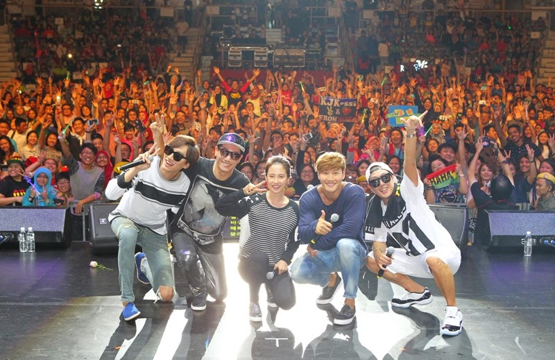 Running Man in Malaysia, Race Start Season 2 Fan Meeting, Race Start Season 2, Running Man, Lee Kwang Soo, Song Ji Hyo, Kim Jong Kook, Haha, Ji Suk Jin,