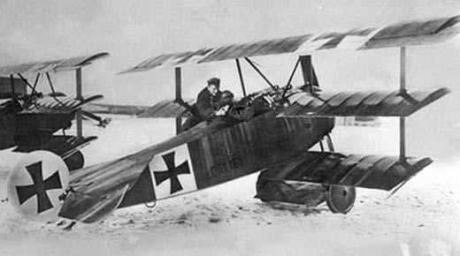 Experimentado piloto alemán conocido como el Barón Rojo derribo un platillo volador durante la Primera Guerra Mundial