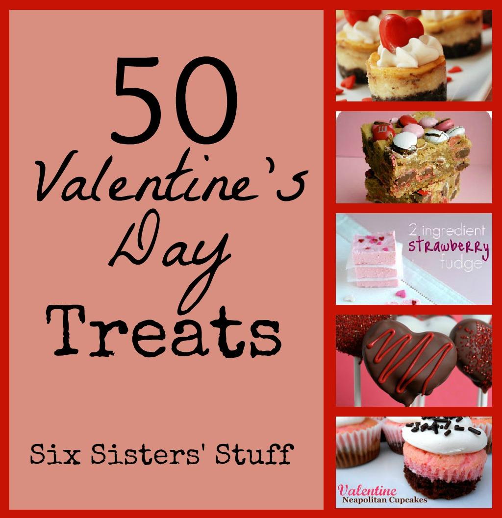 Fresh food friday 50 valentine s day treat recipes six sisters
