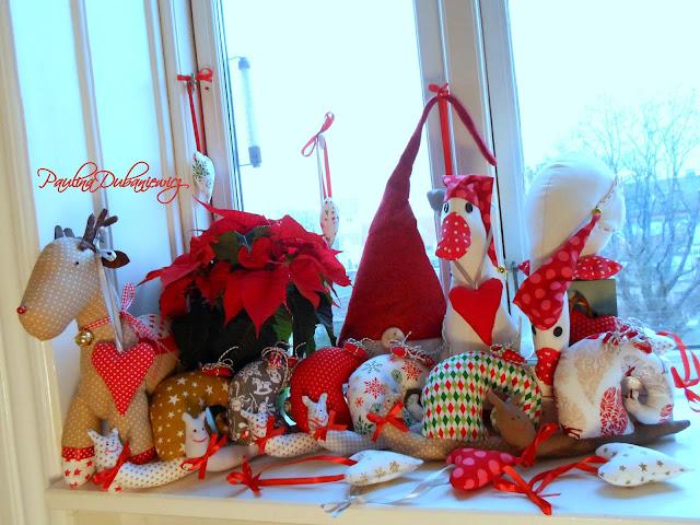 """Moja mała, świąteczna """"rodzina""""/ My little christmas """"family"""""""
